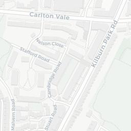 High Explosive Bomb at Malvern Mews , London - Bomb Sight